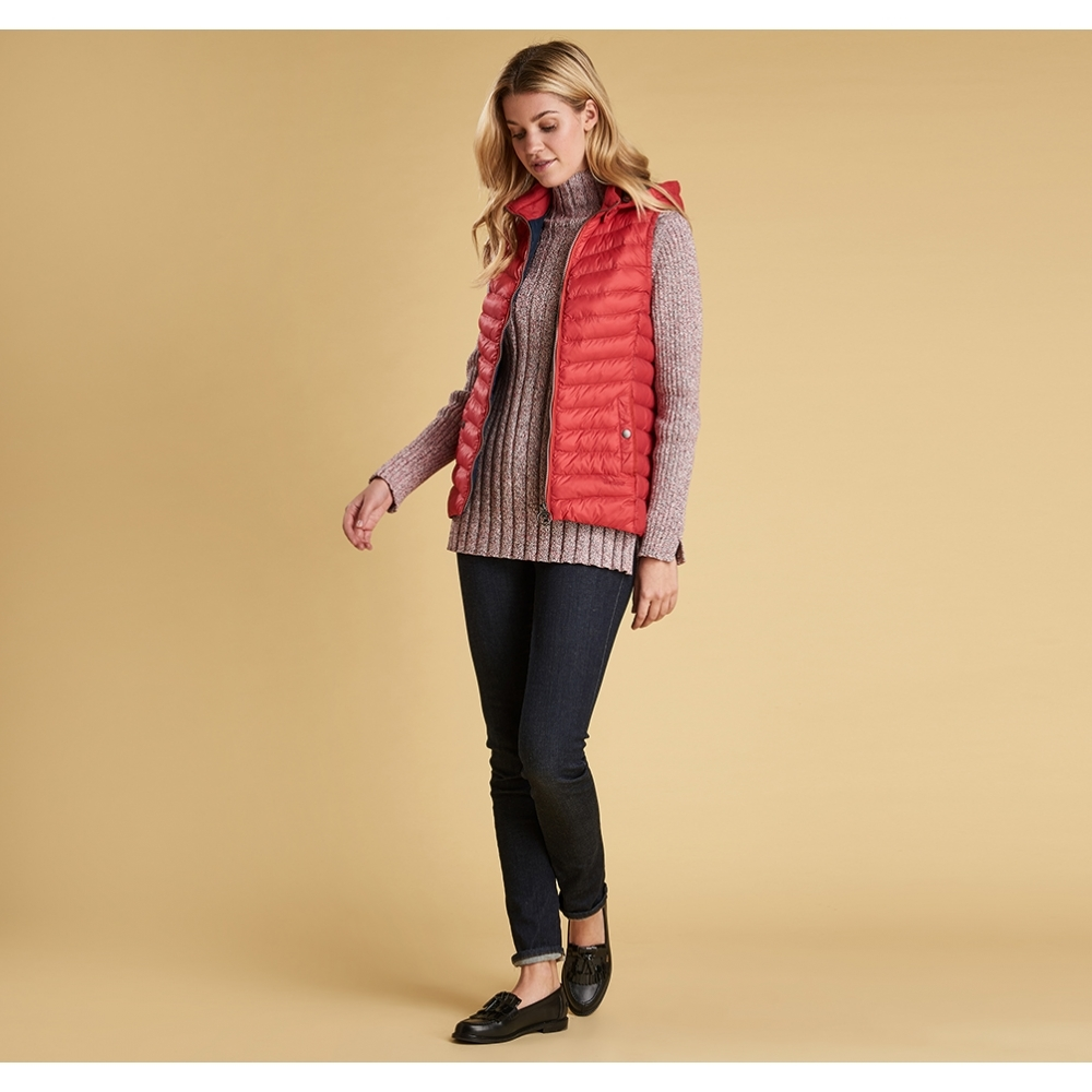 Barbour Pendle Gilet Reef Red Dartmoor Country Clothes