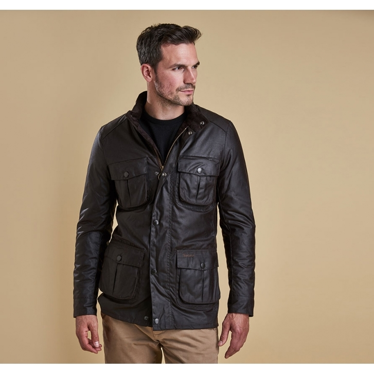 barbour corbridge waxed jacket